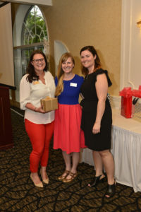 2017 New member award winner Casey Duffy accepts her award.