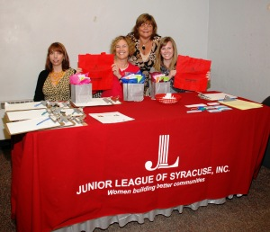 Junior League of Syracuse-Womens' Opportunity Center collaboration, October 2011