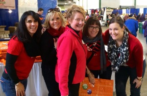 Junior League of Syracuse members at 2014's Holiday Shoppes