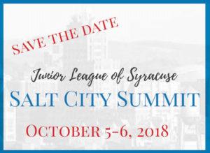 Save the Date - 2018 Salt City Summit