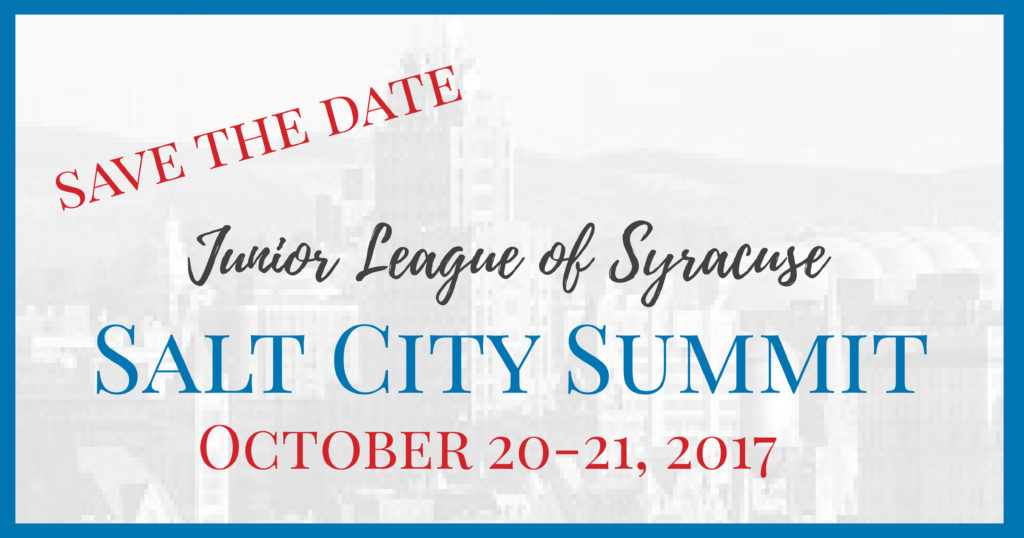 Save the Date for the Salt City Summit